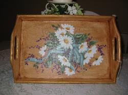 Daisies and Berries Tray