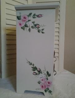 HP Roses Cabinet - left side