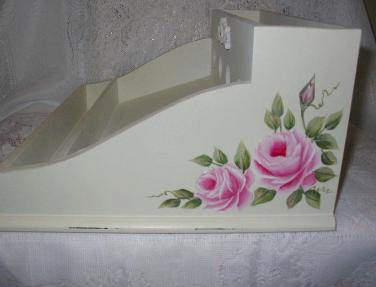 HP Roses Desk Caddy - Right Side