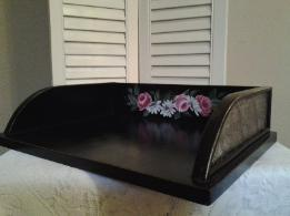 HP Roses and Daisies Desk Tray View 2
