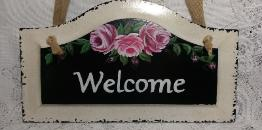 Decorative Hand Painted Signs