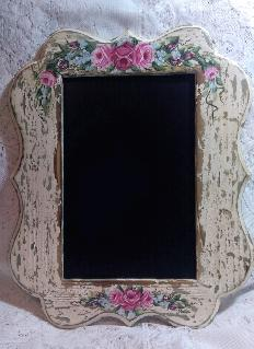 Shabby Chic HP Roses Decorative Chalkboard